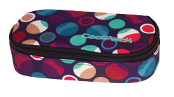 Piórnik CoolPack CAMPUS w kolorowe kropki, MOSAIC DOTS 726 (72601)