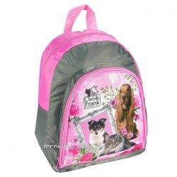 Plecak przedszkolny, wycieczkowy Cleo i Frank psy koty (PL12CF11)
