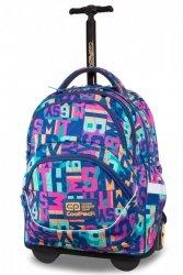 Plecak CoolPack STARR na kółkach w kolorowe napisy, MISSY (B35100)