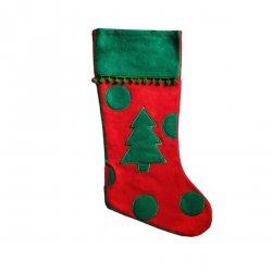 Skarpeta mikołajkowa świąteczna CHOINKA Incood. (0111-0006)
