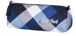 Piórnik szkolny tuba COOLPACK TUBE w niebieską kratę CAMBRIDGE 468 (59503)