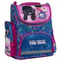 ZESTAW 6 el. Tornister szkolny ergonomiczny THE DOG (TEMBTD34SET6CZ)
