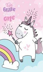 Ręcznik dziecięcy UNICORN Jednorożec Kucyk Pony (08T)