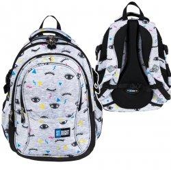 Plecak szkolny młodzieżowy ST.RIGHT w oczy, EYES BP1 (26043)