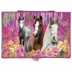 Zestaw artystyczny 71 elementów I LOVE HORSES Konie (ZA71KO15)