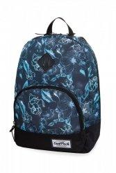 Plecak CoolPack CLASSIC miejski młodzieżowy w podwodne kwiaty, UNDERWATER DREAM (B06022)