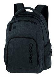 Plecak CoolPack BREAK czarny, SNOW BLACK/ SILVER (88688CP)