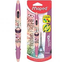 Długopis dwustronny Twin Tip 4 kolory Paris MAPED (94425)