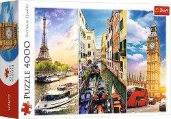 TREFL Puzzle 4000 el. Wycieczka po Europie (45009)