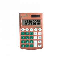 Kalkulator kieszonkowy SZKOLNY Milan Copper zielony (159506CP)