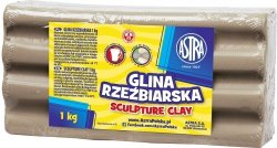 Glina rzeźbiarska 1kg ASTRA (80172)