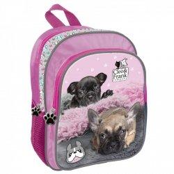 Plecak przedszkolny wycieczkowy CLEO & FRANK Piesek (PLJ11CF19)