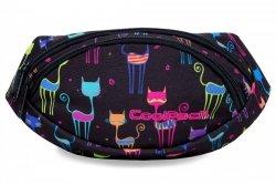SASZETKA NERKA CoolPack na pas torba ALBANY w kolorowe kotki, CATS (B75046)
