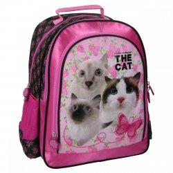 Plecak szkolny THE CAT (PL15TK14)