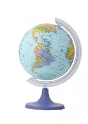 Globus polityczny 160 mm mapa polityczna (0119)