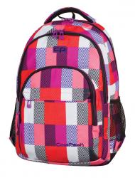 Plecak szkolny młodzieżowy COOLPACK BASIC w kolorowe prostokąty, SNOW HILLS 922 (69816)