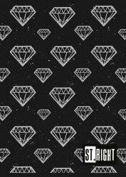 Zeszyt A5 w kratkę 60 kartek DIAMONDS (23028)