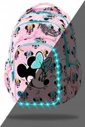 ZESTAW 3 el. Plecak CoolPack SPARK LED Myszka Minnie, MINNIE MOUSE PINK (B45302SET3CZ)