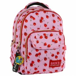 Plecak szkolny młodzieżowy BackUP WIŚNIE (PLB2L31)