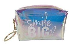 Portfelik holograficzny GLOSSY Smile Big (STN5232)