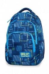 Plecak CoolPack VANCE niebieskie wzory, OCEAN ROOM (B37096)