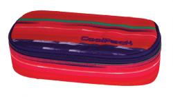 Piórnik szkolny COOLPACK CAMPUS w kolorowe paski, TEXTURE STRIPES 737 (72991)
