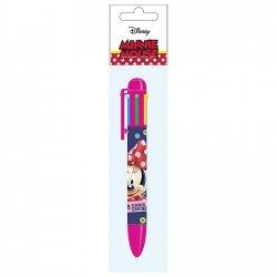 Długopis automatyczny 6 kolorów MYSZKA MINNIE (D6KMM17)