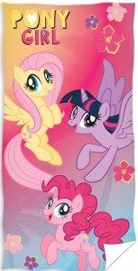 Ręcznik plażowy kąpielowy My Little Pony Kucyki 70 x 140 cm (PONY191004)