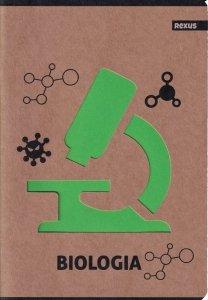 Zeszyt tematyczny przedmiotowy A5 58 kartek w kratkę BIOLOGIA EKO (98416)