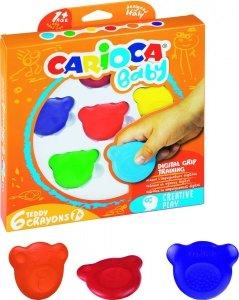Kredki Misiaki BABY dla dzieci 1+ 6 kolorów (42956)