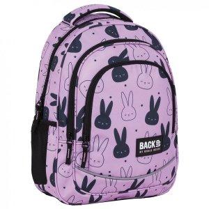 Plecak szkolny młodzieżowy BackUP 26 L króliczki, BUNNY (PLB4X35)