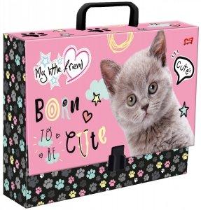 Gruba teczka z rączką CAT Kotek (28238)