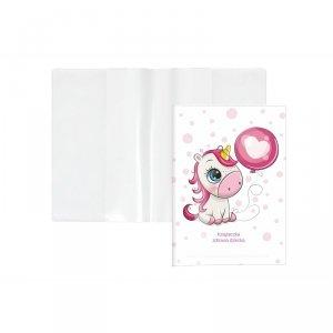 Etui okładka na książeczkę zdrowia dziecka JEDNOROŻEC (KZ-00-02)