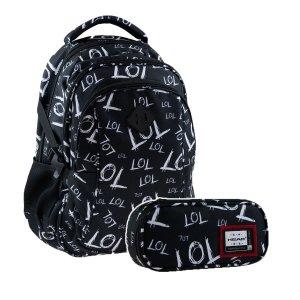 ZESTAW 2 el. Plecak młodzieżowy Head 27 L LOL (502020104SET2CZ)