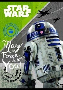 Zeszyt A5 w kolorową linię 16 kartek STAR WARS Gwiezdne Wojny 2 mix (22269)
