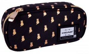 Piórnik szkolny HEAD kotki, GOLDEN KITTY (503021027)