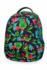 Plecak CoolPack SPINER w czerwone kwiaty, CANDY JUNGLE (B01016)