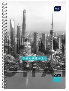 Kołobrulion A4 160 kartek w kratkę SHANGHAI (70477)
