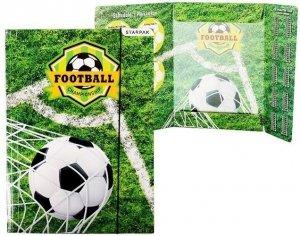 Teczka rysunkowa A4 z gumką STARPAK Piłka nożna (447887)