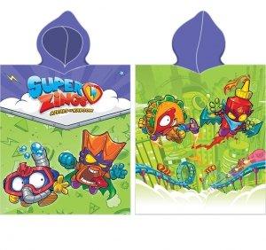 PONCZO SUPER ZINGS 5 SERIA ręcznik kąpielowy z kapturem (SZ203012)