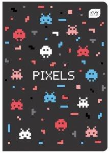 Zeszyt A5 w kolorową linię 16 kartek z polipropylenową okładką MIX CHŁOPIĘCY (93770)