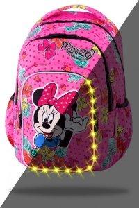 Plecak CoolPack SPARK LED  Myszka Minnie, MINNIE MOUSE TROPICAL (B45301)