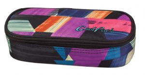 Piórnik CoolPack CAMPUS w kolorowe paski, COLOR STROKES 677 (78023)