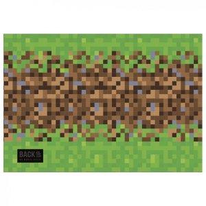 Podkład oklejany na biurko BackUP GAME dla fana gry MINECRAFT (POB4A68)