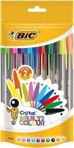 Zestaw długopisów BiC Cristal Multicolor 20 szt. (49008)