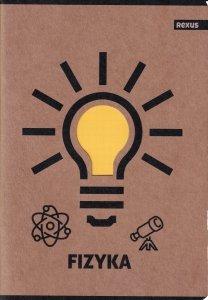 Zeszyt tematyczny przedmiotowy A5 58 kartek w kratkę FIZYKA EKO (98447)