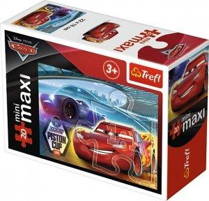 TREFL Puzzle miniMaxi 20 el. Cars Auta 3 PISTON CUP (21046)