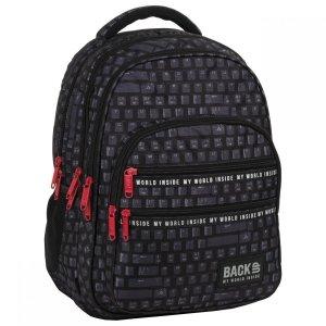Plecak szkolny młodzieżowy BackUP 28 L KLAWIATURA (PLB3M45)