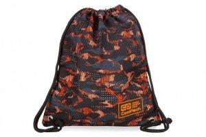 WOREK CoolPack SOLO w pomarańczowe wzory, ORANGO (B72098)