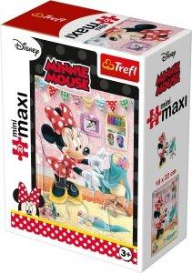 TREFL Puzzle miniMaxi 20 el. Myszka Minnie Butik (21022)